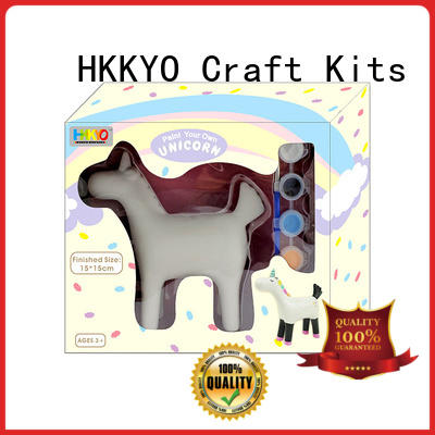 HKKYO rock felt craft kits adults easy-to-do for window art