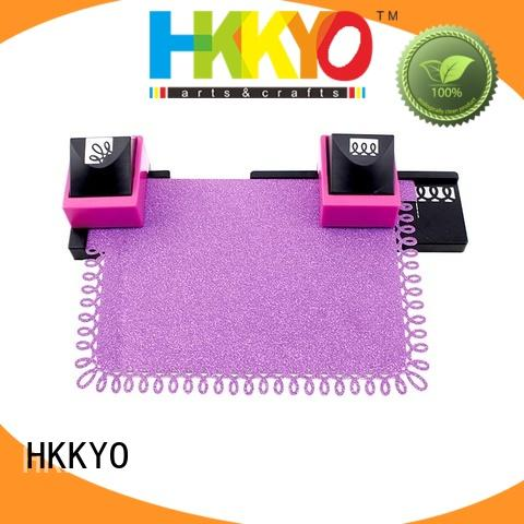 HKKYO interchangeable craft hole punch wholesale for holiday gifts