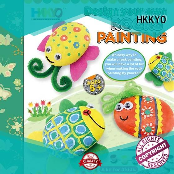 HKKYO ceramic craft kits for adults Supply for window art