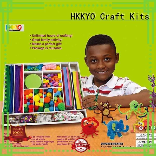 New toy craft kits animal craft for business for greeting cards