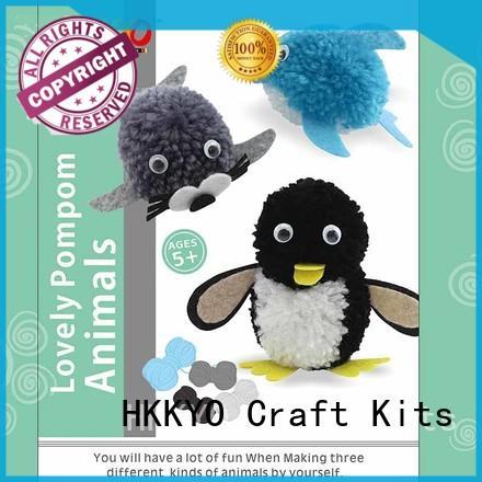 HKKYO animals christmas craft kits long service life for decoration