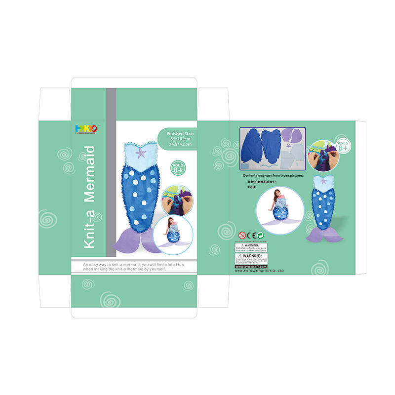 Wholesale craft sets for adults mermaid tail company for girls-3