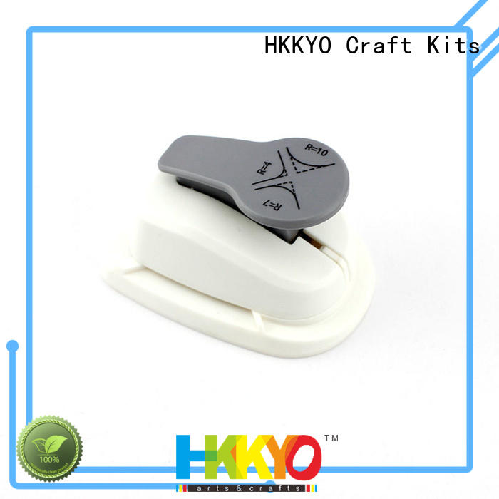 HKKYO rounder craft punch wholesale for kids