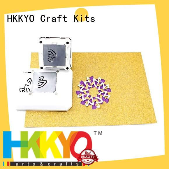 convenient everywhere window punch manufacturer for birthday cards HKKYO