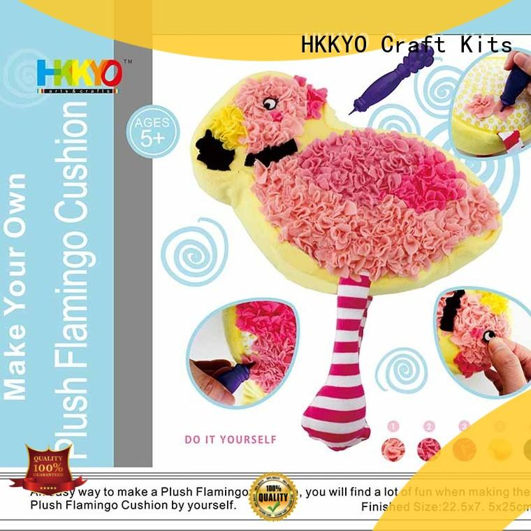 colorful christmas craft kits for adults wholesale for family activities HKKYO