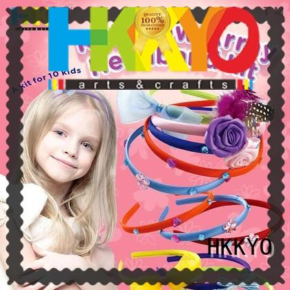 beautiful arts and crafts kits headbands do-it-yourself for girls