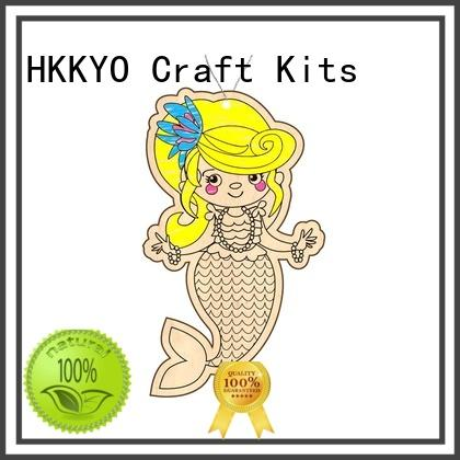 HKKYO educational craft sets for kids DIY for window art