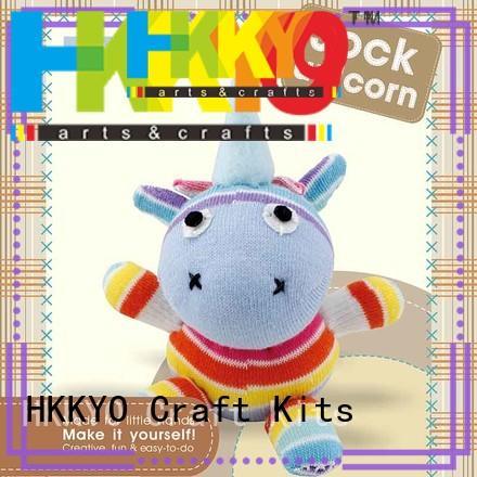 HKKYO creative childrens craft sets wholesale for DIY craft