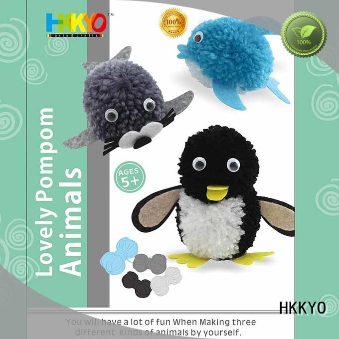 HKKYO craft kits educational for kids craft