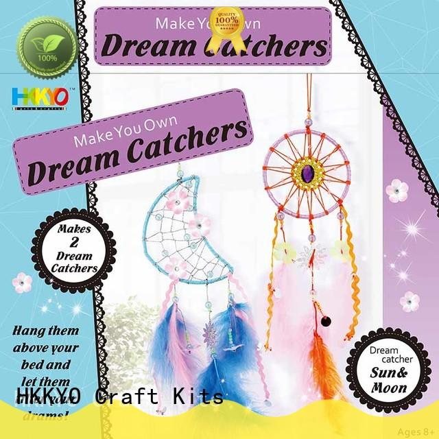 HKKYO dream catcher scrapbook page kits educational for girls