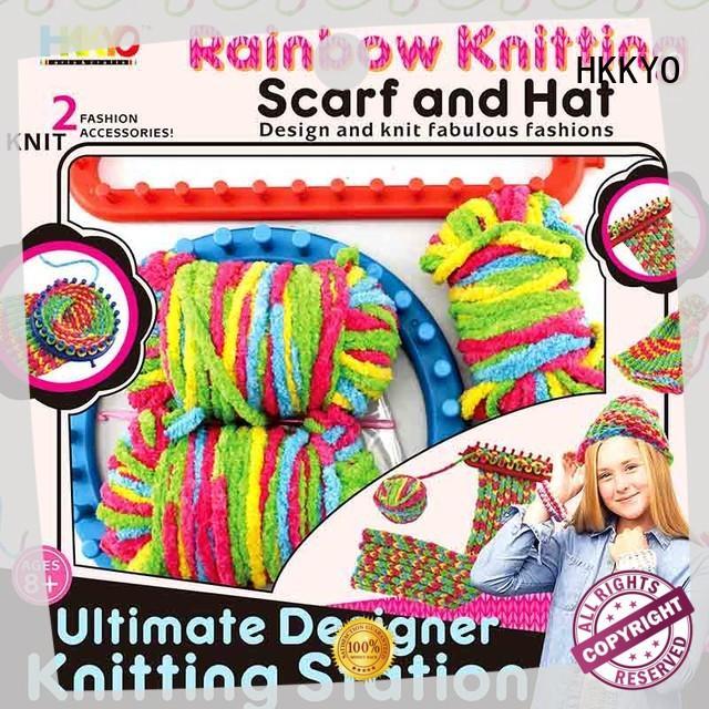 HKKYO gorgeous art and craft gift sets plastic knitting needles