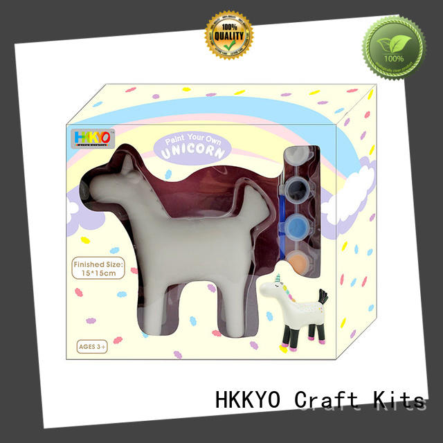 HKKYO wooden MDF scrapbooking kits easy-to-do for birthday gifts