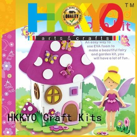 craft kits mushroom style for children HKKYO
