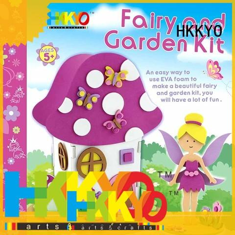 HKKYO hand sewing craft kits for adults wholesale for children