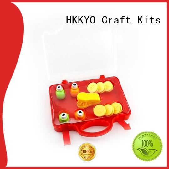 HKKYO scrapbook craft hole punch long service life for kids craft