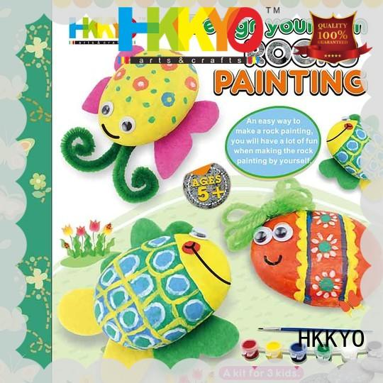 HKKYO unicorn craft kits for girls do-it-yourself for birthday gifts