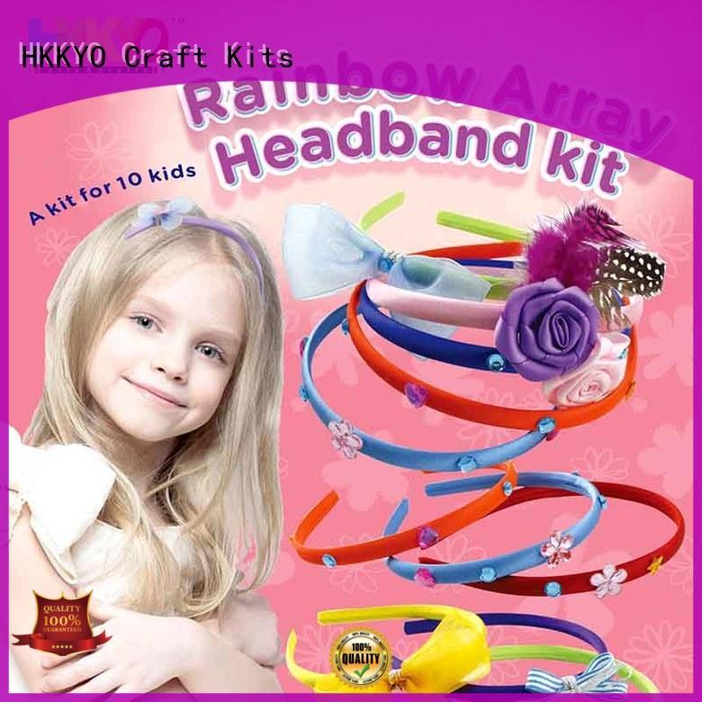 HKKYO adorable craft sets for kids convenient for DIY craft