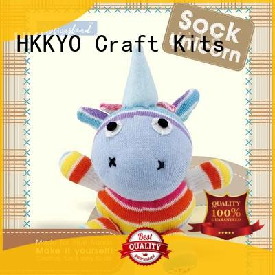 HKKYO stuffed childrens craft sets manufacturers for kids