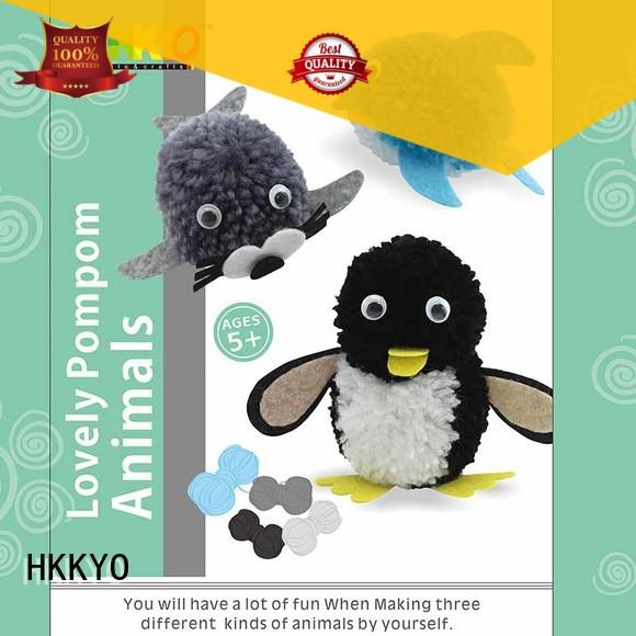 lovely arts and crafts kits pom pom pals wholesale for DIY craft
