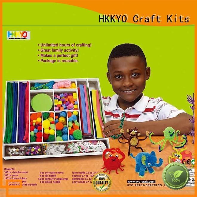 HKKYO big box scrapbooking set supplier for family activity