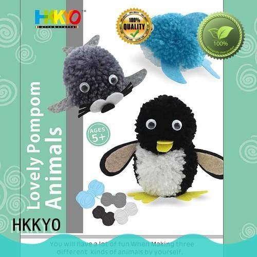 HKKYO lovely christmas craft sets educational for birthday gifts