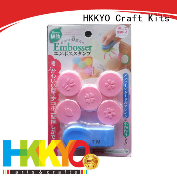 HKKYO creative crafts tools supplier for kids craft