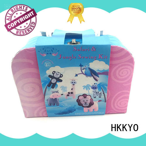 HKKYO stitching craft sets for adults easy-to-do for birthday gifts