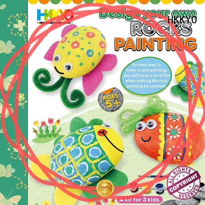 creative craft kits for adults rock do-it-yourself for painting craft