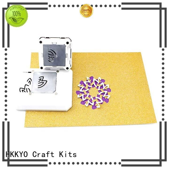 HKKYO different patterns craft punch educational for gifts
