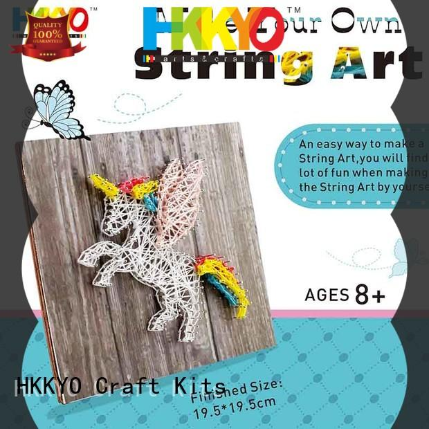 HKKYO unicorn craft set creative for DIY craft