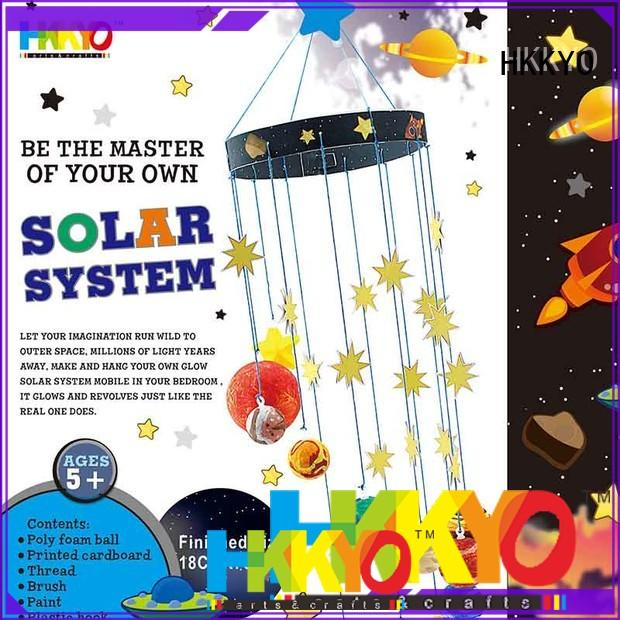 HKKYO planets craft sets for kids manufacturers for children