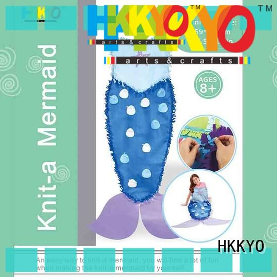 HKKYO fabric felt craft kits for business for girls