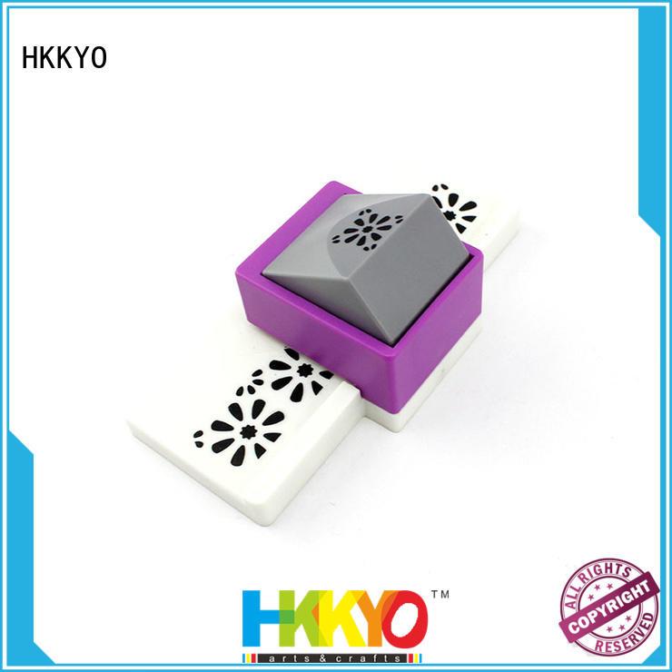 HKKYO embossing edge punch manufacturers for kids artwork