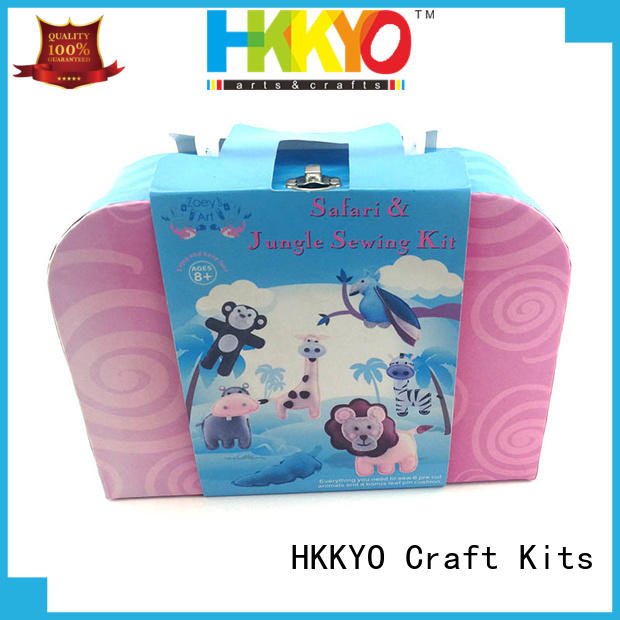 beautiful felt craft kits fleece easy-to-do for rainy day craft