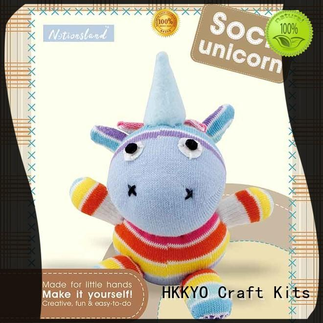 HKKYO cute childrens craft sets manufacturer for children