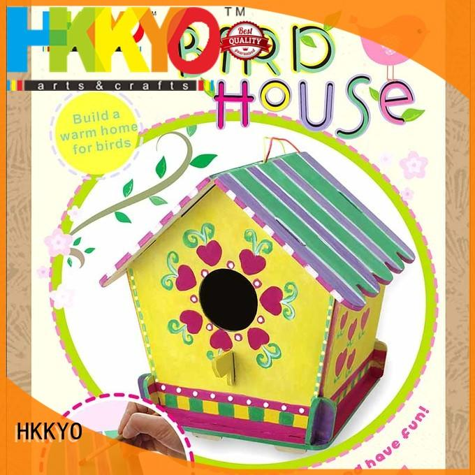 HKKYO coloring craft kits DIY for decoration