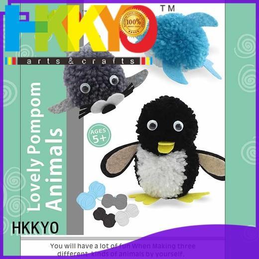 HKKYO easy-to-do christmas craft kits wholesale for DIY craft