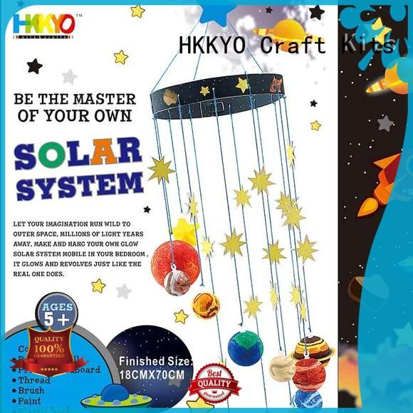 planets craft kits for girls solar system manufacturer HKKYO