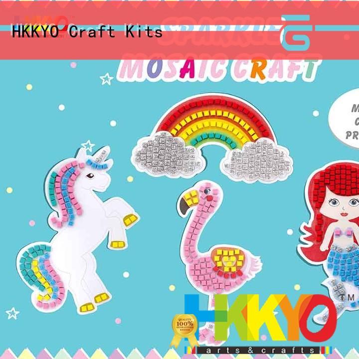 sparkling paper craft set manufacturer for DIY crafts HKKYO