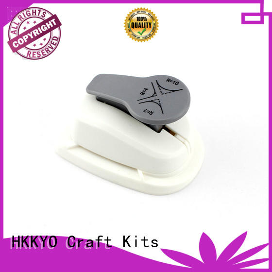 HKKYO sturdy craft punch easy storage for paper craft