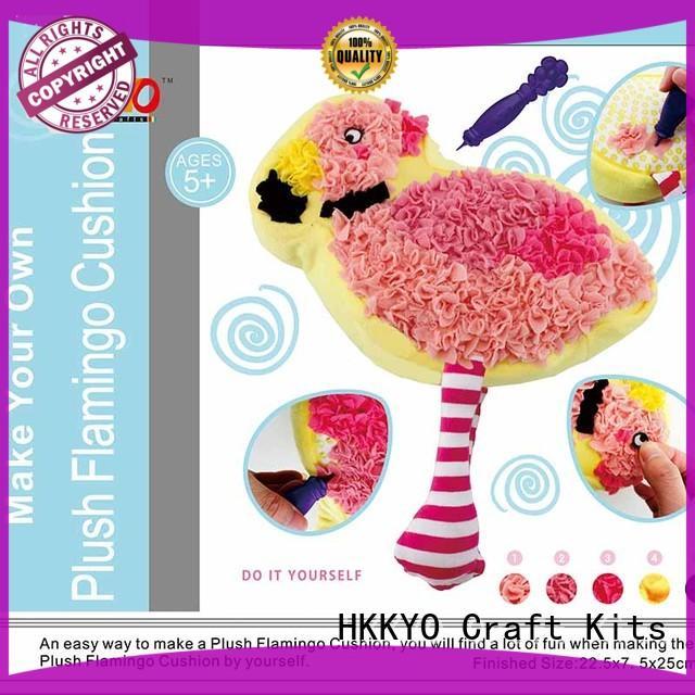 HKKYO creative christmas craft kits for adults animal for kids