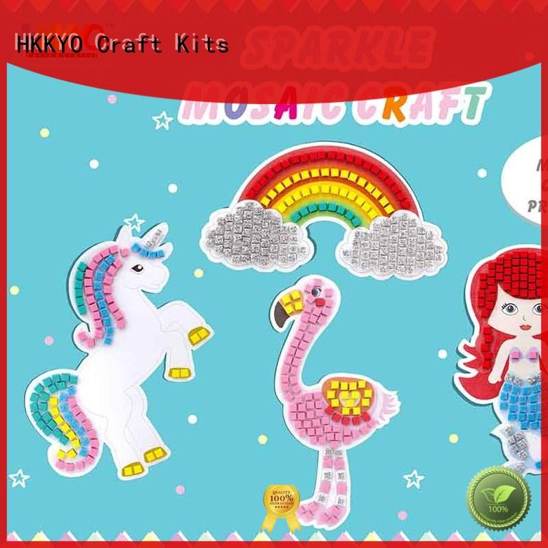 sparkling craft kits rainbow educational for birthday cards