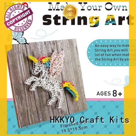 HKKYO Custom craft sets for girls Suppliers for birthday gifts