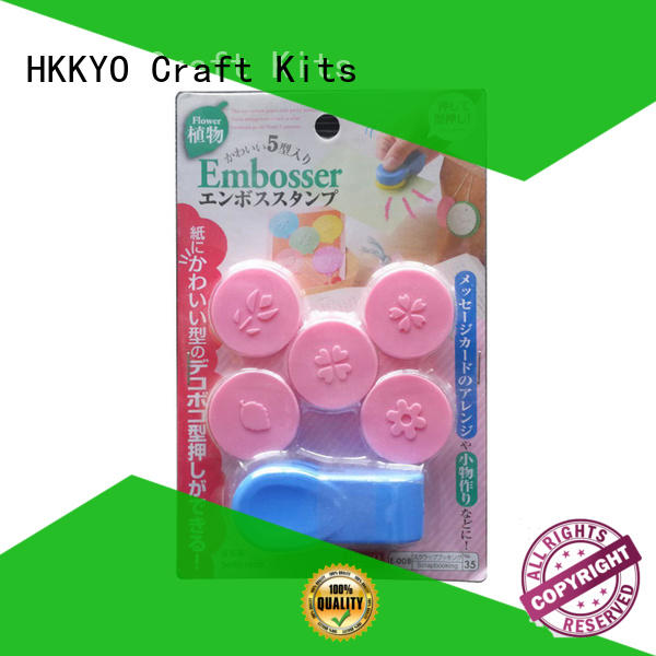 HKKYO many colors punch craft tools company for scrapbook pages