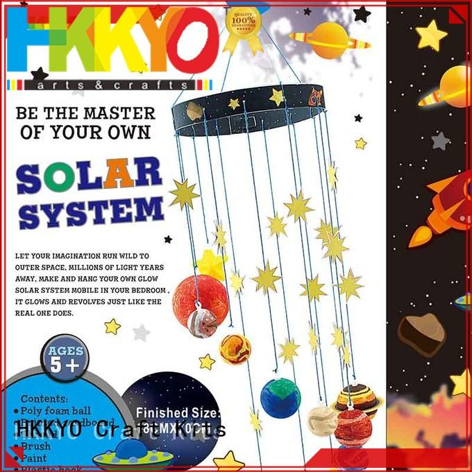 HKKYO planets craft kits for girls Suppliers supplier