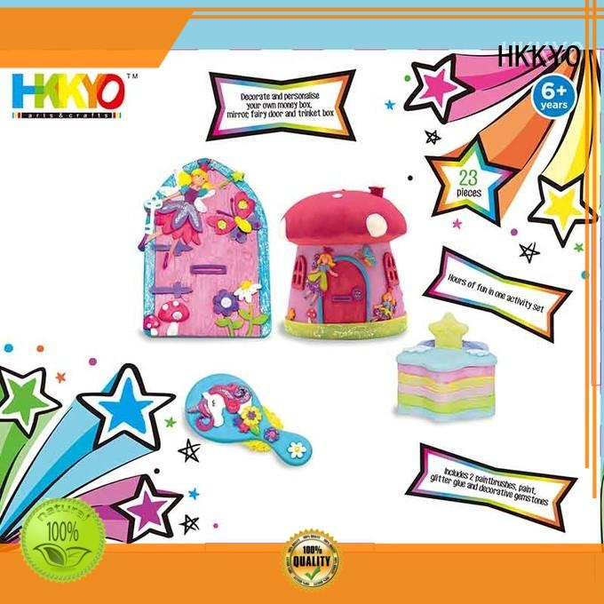 HKKYO wooden MDF craft kits for girls Suppliers for window art