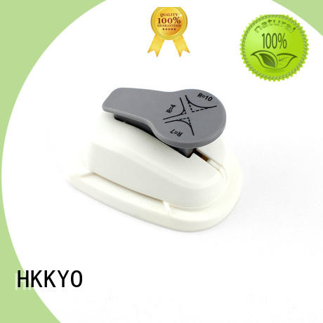 HKKYO rounder corner paper punch creative for cards