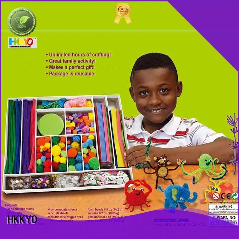 New toy craft kits Pom Pom Suppliers for making decoration