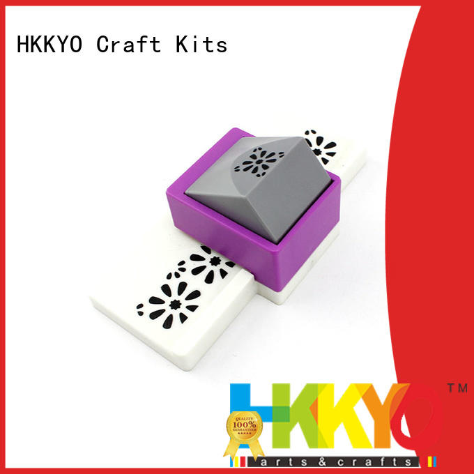 HKKYO easy-to-do craft punching machine customized for paper craft
