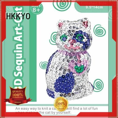 HKKYO stitching scrapbook page kits manufacturers for kids